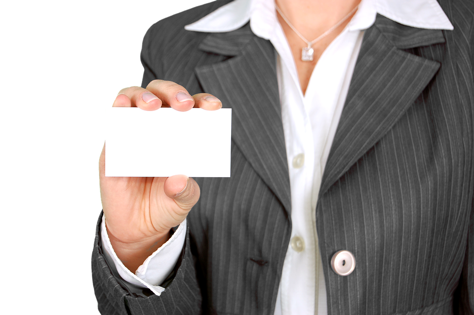 ¿Por qué necesitas tarjetas de visita?